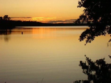 In summer, sunset happens around 11pm