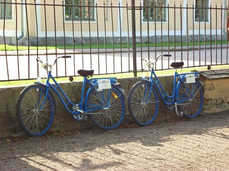 Our sturdy and comfortable bikes