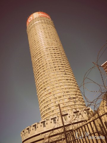 Ponte City, one of downtown Joburg's best-known ladmarks