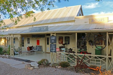 Antiques and bric-a-brac in lovely old Karoo house