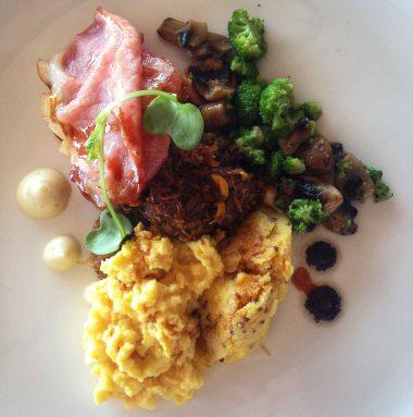 Egg & bacon Forum Homini style