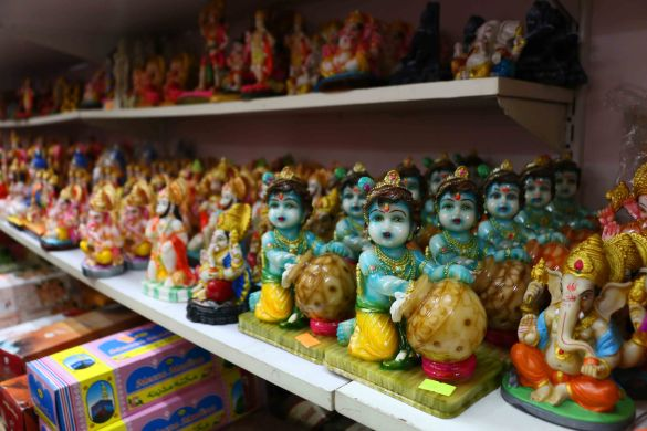 Indian deities of all shapes and sizes