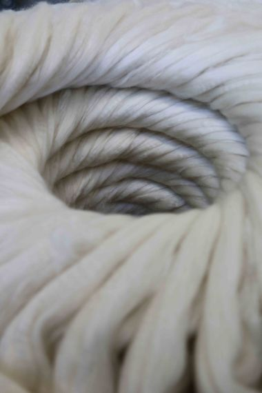 Soft, combed mohair wool