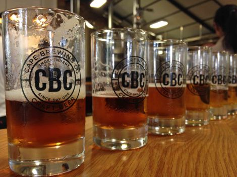 Beer tasting at CBC