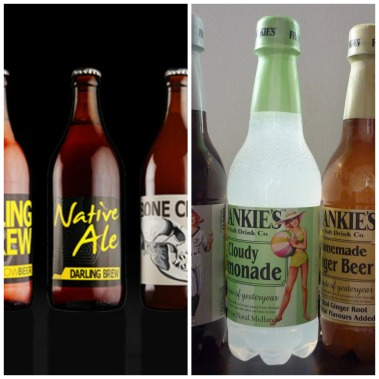 Darling Brew Frankies Soft drinks