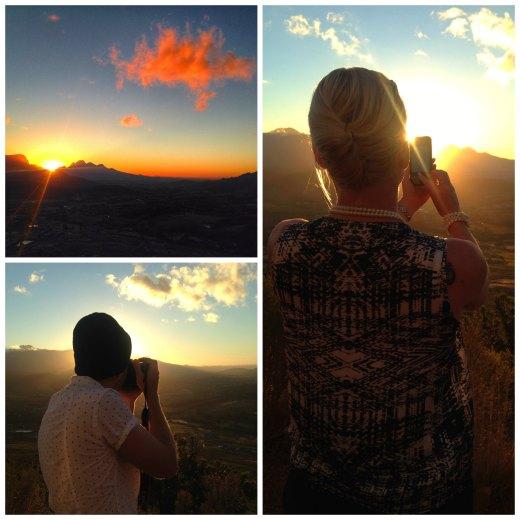 Sunset Franschhoek