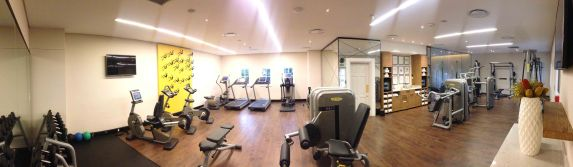 The gym: panorama