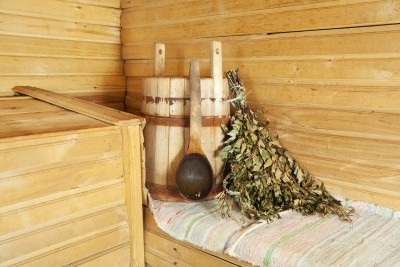 Fresh branches of birch are often used to whip your body in a Finnish sauna ritual. It is said to help relax the muscles?
