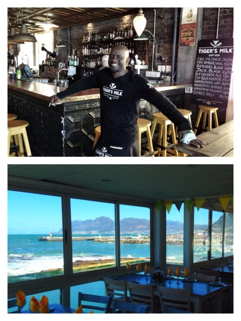 A seaside lunch at Brass Bell in Kalk Bay, and one at Muizenberg's new darling Tiger's Milk!