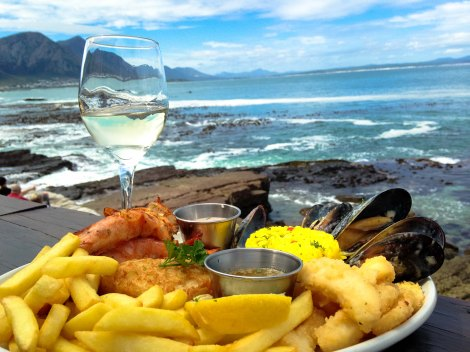 Seafood with a view