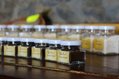 Vanilla can spice up many products, including sugar, salt and rhum