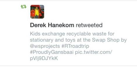 Even Minister Hanekom agrees with me that this project is awesome!