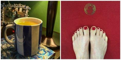 July_tea and yoga